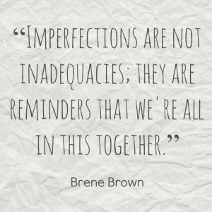 imperfections are not